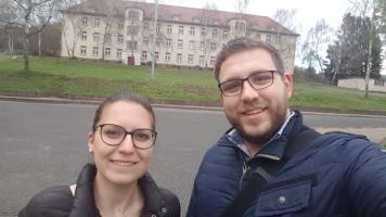 Sophie Peter und Tobias Wüst vertraten die SPD-Aschaffenburg.