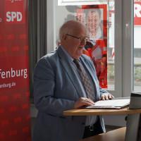 Der Kassier Hartwig Loh konnte den Delegierten von einer positiven Entwicklung der Finanzen des Stadtverbands berichten