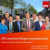 Neues Führungsteam der SPD Stadtratsfraktion Aschaffenburg