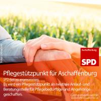 Jung hilft Alt - Pflegestützpunkt für Aschaffenburg