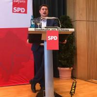 Manuel Michniok, Vorsitzender SPD Aschaffenburg