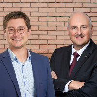 Manuel Michniok und Bernd Rützel
